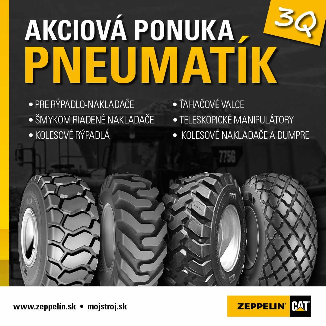 Ponuka pneumatík 3Q 2021